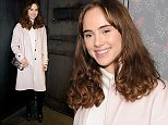 Suki Waterhouse at the opening of new London members' club, Le Peep Boutique. 2nd October 2014, London.