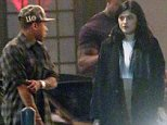 127064, EXCLUSIVE: Kylie Jenner and Miles Richie seen leaving Casa Vega restaurant after a dinner date in Los Angeles. Los Angeles, California - Wednesday October 1, 2014. Photograph: © David Tonnessen / Anthony Monterotti, PacificCoastNews. Los Angeles Office: +1 310.822.0419 sales@pacificcoastnews.com FEE MUST BE AGREED PRIOR TO USAGE