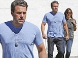 Embattled couple Jennifer Garner and Ben Affleck step out in Brentwood to make a rare public sighting together. Ben's new thriller Gone Girl hits theaters today. October 3, 2014 X17online.com