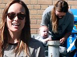 Mandatory Credit: Photo by Startraks Photo/REX (4161796k)\n Olivia Wilde with Son Otis\n Olivia Wilde out and about, New York, America - 03 Oct 2014\n \n