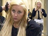 EXCLUSIVE: Troubled star Amanda Bynes is seen arriving into New York JFK Airport this morning. Wearing her trademark blonde hair extensions the actress can be seen sporting a large band aid across her right cheek, as she makes her way through the terminal\n\nPictured: Amanda Bynes\nRef: SPL856230  031014   EXCLUSIVE\nPicture by: Butterworth/SplashNews\n\nSplash News and Pictures\nLos Angeles: 310-821-2666\nNew York: 212-619-2666\nLondon: 870-934-2666\nphotodesk@splashnews.com\n