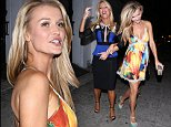 EXCLUSIVE: 'Real Housewives' stars Joanna Krupa and Gretchen Rossi seen leaving Royal Palace Strip Club in West Hollywood, CA.\n\nPictured: Gretchen Rossi and Joanna Krupa\nRef: SPL856880  031014   EXCLUSIVE\nPicture by: SPW / Splash News\n\nSplash News and Pictures\nLos Angeles:\t310-821-2666\nNew York:\t212-619-2666\nLondon:\t870-934-2666\nphotodesk@splashnews.com\n