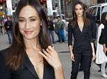 Maggie Q seen departing a taping of 'The Late Show With David Letterman' in NYC.\n\nPictured: Maggie Q\nRef: SPL855153  300914  \nPicture by: Richie Buxo / Splash News\n\nSplash News and Pictures\nLos Angeles: 310-821-2666\nNew York: 212-619-2666\nLondon: 870-934-2666\nphotodesk@splashnews.com\n