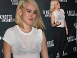 Rumer Willis makes surprise appearance at the VIP Opening of Knott's Scary Farm on October 2, 2014 at Knott's Berry Farm in Buena Park, California.\n\nPictured: Rumer Willis\nRef: SPL857015  031014  \nPicture by: @Parisa / Splash News\n\nSplash News and Pictures\nLos Angeles: 310-821-2666\nNew York: 212-619-2666\nLondon: 870-934-2666\nphotodesk@splashnews.com\n