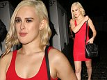 Rumer Willis seen leaving Chateau Marmont with Cameron Monaghan in West Hollywood. West Hollywood, California - Saturday October 4, 2014. \nPHOTOGRAPH BY Pacific Coast News / Barcroft Media\nUK Office, London.\nT +44 845 370 2233\nW www.barcroftmedia.com\nUSA Office, New York City.\nT +1 212 796 2458\nW www.barcroftusa.com\nIndian Office, Delhi.\nT +91 11 4053 2429\nW www.barcroftindia.com