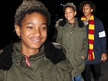 Willow Smith was spotted in an olive green jacket, heading over to Kendall Jenner's in New York, on Saturday, October 4, 2014  X17online.com