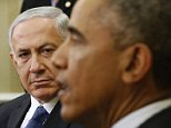 U.S. President Barack Obama (R) meets with Israel's Prime Minister Benjamin Netanyahu at the White House in Washington October 1,  2014.     REUTERS/Kevin Lamarque  (UNITED STATES - Tags: POLITICS)