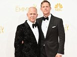 Mandatory Credit: Photo by Rob Latour/REX (4082348mh)  Ryan Murphy ; David Miller  The 66th Annual Primetime Emmy Awards, Arrivals, Los Angeles, America - 25 Aug 2014
