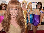 LOS ANGELES, CA - OCTOBER 05:  Actress Kathy Griffin attends the 2014 Best In Drag Show at the Orpheum Theatre on October 5, 2014 in Los Angeles, California.  (Photo by Jason Kempin/Getty Images)