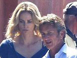 EXCLUSIVE FOR THE MAIL ONLINE  Mandatory Credit: Photo by Tania Coetzee/REX (4162094m)  Charlize Theron and Sean Penn  'The Last Face' on set filming, Cape Town, South Africa - 04 Oct 2014  Charlize Theron and Sean Penn on set filming scenes for their latest movie, The Last Face, co-starring Javier Bardem.
