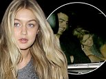 **NO Australia, New Zealand** Hollywood, CA - 19 year-old model, Gigi Hadid and Joe Jonas continue to fuel dating rumors as they arrive together at the Warwick in Hollywood for King of Leon's after party.  The pair were also seen inside a car together, where Gigi sat hunched over, trying to take cover while Joe didn't seem to care and had a big smile on his face.  They have been seen out together on a few occasions lately, sparking dating rumors.  Reportedly, Joe's younger brother, Nick dated Gigi a few times before, however, it looks like it's not stopping Joe from hanging out with the young model.\nAKM-GSI          October 3, 2014\n**NO Australia, New Zealand**\nTo License These Photos, Please Contact :\nSteve Ginsburg\n(310) 505-8447\n(323) 423-9397\nsteve@akmgsi.com\nsales@akmgsi.com\nor\nMaria Buda\n(917) 242-1505\nmbuda@akmgsi.com\nginsburgspalyinc@gmail.com