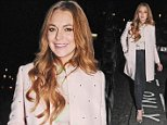 Exclusive All Round. Minimum WEB/SMN/APP Fees GBP 40 per Image.\n Mandatory Credit: Photo by Rotello/REX (4161891b)\n Lindsay Lohan leaving the Nozomi bar and restaurant after a night out with friends\n Lindsay Lohan at the Nozomi Restaurant, London, Britain - 03 Oct 2014\n \n