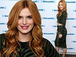 NEW YORK, NY - OCTOBER 03:  Actress Bella Thorne visits the SiriusXM Studios on October 3, 2014 in New York City.  (Photo by Ilya S. Savenok/Getty Images)