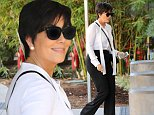 Please contact X17 before any use of these exclusive photos - x17@x17agency.com   Reality Queen Kris Jenner looks fabulous while stepping out to shop at Neiman Marcus in Beverly Hills. October 6, 2014 X17online.com EXCLUSIVE