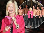 Olivia Newton-John lights the High Roller pink with the Chippendales for Breast Cancer Awareness Month at The Linq Fountain Stage in Las Vegas\nFeaturing: Olivia Newton-John\nWhere: Las Vegas, Nevada, United States\nWhen: 06 Oct 2014\nCredit: DJDM/WENN.com