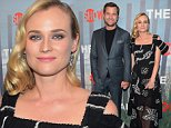 """NEW YORK, NY - OCTOBER 06:  Actors Joshua Jackson (L) and Diane Kruger attend premiere of SHOWTIME drama """"The Affair"""" held at North River Lobster Company on October 6, 2014 in New York City.  (Photo by Michael Loccisano/Getty Images for Showtime)"""