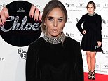 Chloe Green attending the IWC gala in honour of the British Film Institute at Battersea Evolution, London. PRESS ASSOCIATION Photo. Picture date: Tuesday October 7, 2014. Photo credit should read: Ian West/PA Wire