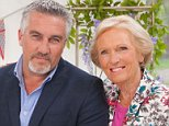 WARNING: Embargoed for publication until: 29/07/2014 - Programme Name: The Great British Bake Off - TX: n/a - Episode: n/a (No. 1) - Picture Shows:  Paul Hollywood, Mary Berry - (C) Love Productions - Photographer: Mark Bourdillon