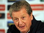 The Grove Hotel. England Press conference 07/10/14: Kevin Quigley/Daily Mail/Solo Syndication Roy Hodgson and Wayne Rooney