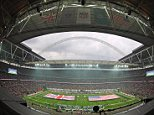American Football - Oakland Raiders v Miami Dolphins - NFL International Series - Wembley Stadium, London, England - 28/9/14  General view  Mandatory Credit: Action Images / Pool Pic  Livepic  EDITORIAL USE ONLY.