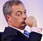 UKIP Annual Party Conference at Doncaster Racecourse, South Yorkshire. PIC SHOWS:- Nigel Farage
