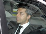 Mandatory Credit: Photo by Foto24/Nasief Manie/Gallo/REX (4186737a)  Shrien Dewani arrives at the Western Cape High Court  Anni Dewani murder trial, Cape Town, South Africa - 09 Oct 2014  Dewani is accused of organising his wife's murder while they were on honeymoon in Cape Town in 2010, he has pleaded not guilt to all charges.
