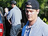 Picture Shows: Axl Duhamel, Josh Duhamel  October 08, 2014    'Don Peyote' actor Josh Duhamel is seen picking up his baby boy Axl at a swimming class in Brentwood, California. Josh has been busy as of late filming the new police drama 'Battle Creek' which co-stars Dean Winters.    Non Exclusive  UK RIGHTS ONLY    Pictures by : FameFlynet UK    2014  Tel : +44 (0)20 3551 5049  Email : info@fameflynet.uk.com