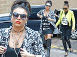 8 Oct 2014 - LONDON - UK *** EXCLUSIVE ALL ROUND PICTURES *** LITTLE MIX SEEN ARRIVING AT A RECORDING STUDIO TOGETHER WHERE THEY ARE RECORDING THEIR 3RD ALBUM! BYLINE MUST READ : XPOSUREPHOTOS.COM ***UK CLIENTS - PICTURES CONTAINING CHILDREN PLEASE PIXELATE FACE PRIOR TO PUBLICATION *** **UK CLIENTS MUST CALL PRIOR TO TV OR ONLINE USAGE PLEASE TELEPHONE 44 208 344 2007**
