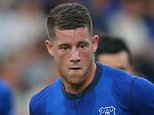 Ross Barkley of Everton during the Pre-Season Friendly between Everton and Celta Vigo at Prenton Park on August 6, 2014 in Birkenhead, England. (Photo by Dave Thompson/Getty Images)