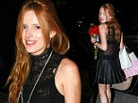 127377, EXCLUSIVE: Bella Thorne celebrates her 17th birthday with friends at Sugar Fish in Studio City. Studio City, California - October 8, 2014. Photograph: © PacificCoastNews. Los Angeles Office: +1 310.822.0419 sales@pacificcoastnews.com FEE MUST BE AGREED PRIOR TO USAGE