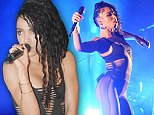 FKA TWIGS ( FKA -formerly known as )..- Born Tahalia Debrett Barnet- 16/1/88...@ HACKNEY EMPIRE,..HACKNEY, LONDON- 8/10/2014...- FKA TWIGS  is the bookies favourite at 5/2 to win the coveted MERCURY MUSIC AWARD PRIZE ON OCTOBER 29TH 2014.....PHOTOS BY : STEVE GILLETT / LIVEPIX..CONTACT ; LIVEPIX..07958 961 625..live@livepix.biz