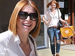 West Hollywood, CA - Actress and mother of two Alyson Hannigan shops for kids clothes at Eggy before stopping at Juice to pick up a 7 day cleanse box.\nAKM-GSI        October 8, 2014\nTo License These Photos, Please Contact :\nSteve Ginsburg\n(310) 505-8447\n(323) 423-9397\nsteve@akmgsi.com\nsales@akmgsi.com\nor\nMaria Buda\n(917) 242-1505\nmbuda@akmgsi.com\nginsburgspalyinc@gmail.com