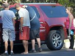 127254, EXCLUSIVE: Melissa Joan Hart surely wished she had her 'Sabrina, the Teenage Witch' powers when she locked herself out of her car and had to call AAA for assistance. Melissa can be seen displaying a fuller figure after recently boasting about a 40lbs weight loss. Los Angeles, California - Tuesday October 7, 2014. PHOTOGRAPH BY Pacific Coast News / Barcroft Media UK Office, London. T +44 845 370 2233 W www.barcroftmedia.com USA Office, New York City. T +1 212 796 2458 W www.barcroftusa.com Indian Office, Delhi. T +91 11 4053 2429 W www.barcroftindia.com