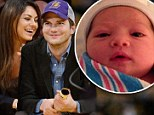 'He loves holding the baby': Ashton Kutcher has taken to new role as dad to daughter Wyatt by reading baby books and buying stuffed animals