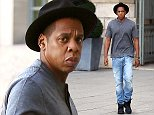 Jay Z shopping at Fred's jewelery in Paris, France on October 8th 2014  Pictured: Jay-Z Ref: SPL860348  081014   Picture by: KCS Presse / Splash News  Splash News and Pictures Los Angeles: 310-821-2666 New York: 212-619-2666 London: 870-934-2666 photodesk@splashnews.com