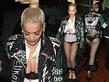 Rita Ora & boyfriend Ricky Hillfiger return home at 4.45am after boozy night out at the chiltern firehouse and then clubbing at cirque de sior nightclub until the early hours.  Pictured: Rita Ora, Ricky Hillfiger Ref: SPL861176  081014   Picture by: Weir Photos / Splash News  Splash News and Pictures Los Angeles: 310-821-2666 New York: 212-619-2666 London: 870-934-2666 photodesk@splashnews.com