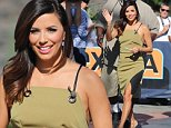 Eva Longoria appears on Extra\nFeaturing: Eva Longoria\nWhere: Los Angeles, California, United States\nWhen: 08 Oct 2014\nCredit: WENN.com