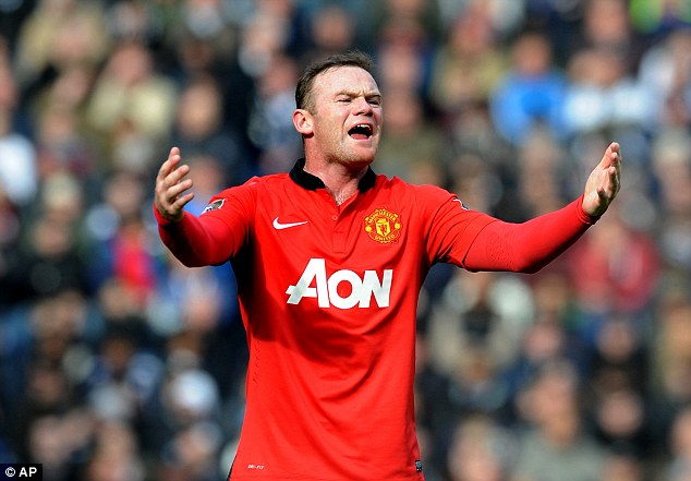 Tough to see: Wayne Rooney says it would hurt to see Liverpool win the title