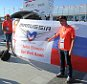 James Moy Photography via Press Association Images   A Get Well Soon banner for Jules Bianchi (FRA) Marussia F1 Team. Russian Grand Prix, Thursday 9th October 2014. Sochi Autodrom, Sochi, Russia.