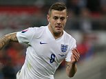 Man of the Match  England's Jack Wilshere