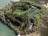 NO USE WITHOUT CREDIT OF VLADI PRIVATE ISLANDS/MERCURY PRESS  (PICTURED:  AERIAL VIEW OF THE FORT ISLAND)  A stunning island that boasts its very own FORT is now on the market. Venetian Island Fort, north east of Venice, Italy, is up for grabs for a whopping £7,400,000 and even features its own caretaker's lodge. The island was originally a Napoleonic Fort before becoming part of the kingdom of Italy in 1866.  It comes complete with a stunning red-brick property which features four bedrooms, three bathrooms and a large living room area.  SEE COPY
