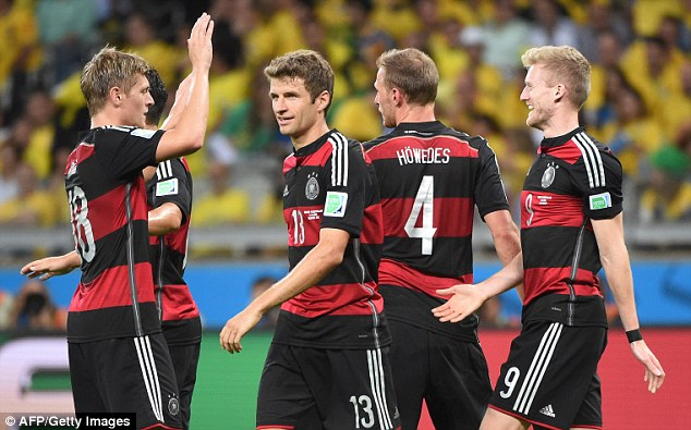 Too good: Jens Lehmann believes Germany will win a fourth World Cup at the expense of Argentina