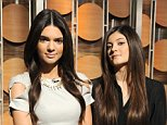 """GOOD MORNING AMERICA - Reality stars Kendall and Kylie Jenner share hot spring trends for teens on """"Good Morning America,"""" 2/8/13, airing on the ABC Television Network. (Photo by Donna Svennevik/Disney-ABC via Getty Images)KYLIE JENNER, KENDALL JENNER"""