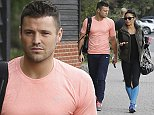 Picture Shows: Mark Wright, Karen Hauer  October 13th, 2014    British TV personality Mark Wright is spotted looking glum after a shocking performance at the weekend saw him take a mauling from the 'Strictly Come Dancing' judges.     Mark is pictured heading to training with his exuberant dance partner Karen Hauer in Essex, England.    Exclusive - All Round  WORLDWIDE RIGHTS    Pictures by : FameFlynet UK    2014  Tel : +44 (0)20 3551 5049  Email : info@fameflynet.uk.com
