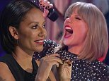 ****Ruckas Videograbs****  (01322) 861777 *IMPORTANT* Please credit ITV for this picture. 12/10/14 The X Factor Results- Saturday 12th October 2014, ITV1 Grabs from tonight's results show of The X factor Office  (UK)  : 01322 861777 Mobile (UK)  : 07742 164 106 **IMPORTANT - PLEASE READ** The video grabs supplied by Ruckas Pictures always remain the copyright of the programme makers, we provide a service to purely capture and supply the images to the client, securing the copyright of the images will always remain the responsibility of the publisher at all times. Standard terms, conditions & minimum fees apply to our videograbs unless varied by agreement prior to publication.