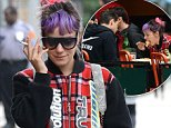 Lily Allen and Mark Ronson have lunch at Bar Pitti in the West Village, New York City.\nFeaturing: Lily Allen\nWhere: New York, New York, United States\nWhen: 13 Oct 2014