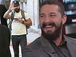 Picture Shows: Shia LaBeouf  October 13, 2014    'Fury' actor Shia LaBeouf making an appearance on 'Jimmy Kimmel Live!' in Hollywood, California. Shia was seen giving a friendly wave to the photographers at the studio.    Non Exclusive  UK RIGHTS ONLY    Pictures by : FameFlynet UK    2014  Tel : +44 (0)20 3551 5049  Email : info@fameflynet.uk.com