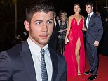 CANNES, FRANCE - OCTOBER 13:  Nick Jonas and Olivia Culpo attend the opening red carpet party  MIPCOM 2014 at Hotel Martinez on October 13, 2014 in Cannes, France.  (Photo by Didier Baverel/WireImage)