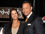 SANTA MONICA, CA - FEBRUARY 25:  Actor Terrence Howard (R) and Michelle Ghent attend the Official Presenter Gift Lounge at the 2012 Film Independent Spirit Awards at Santa Monica Pier on February 25, 2012 in Santa Monica, California.  (Photo by John Sciulli/Getty Images)