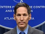 Center for Disease Control (CDC) head Dr. Thomas Frieden speaks duing a briefing.